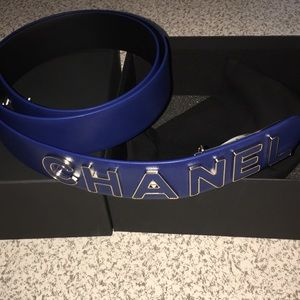Leather Woman MARINE Chanel Belt